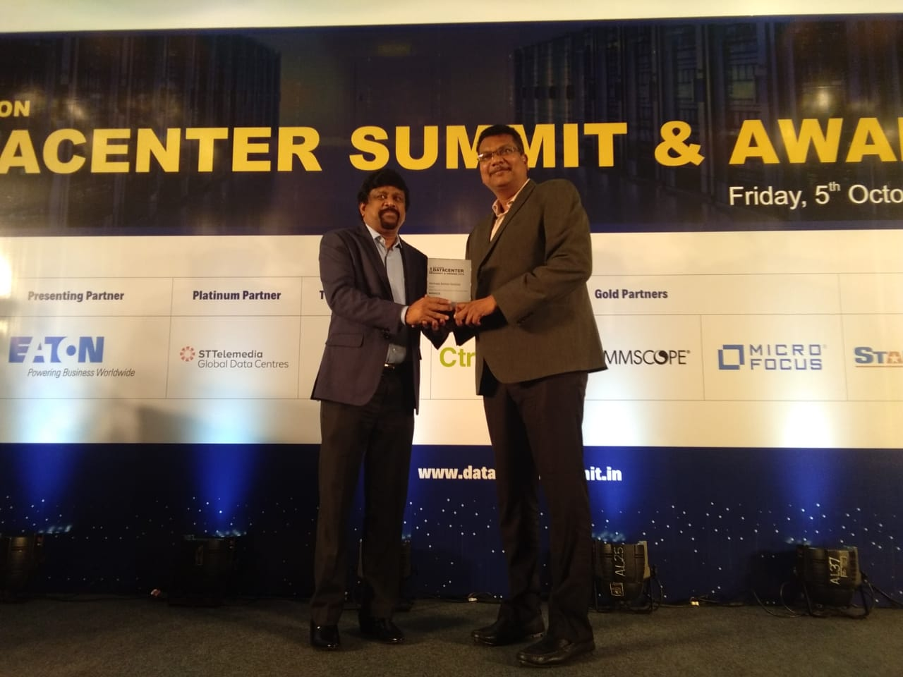 Venkata Satish Guttula, Director IT Security Data Security Award 2018